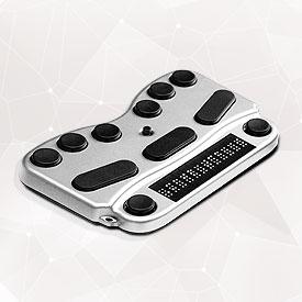BraillePen 12 and BraillePen 12 Touch Menu