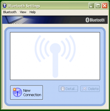 Pairing with the Toshiba Bluetooth Adapter