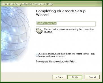 Pairing with the Broadcom WIDCOMM® Bluetooth Adaptor