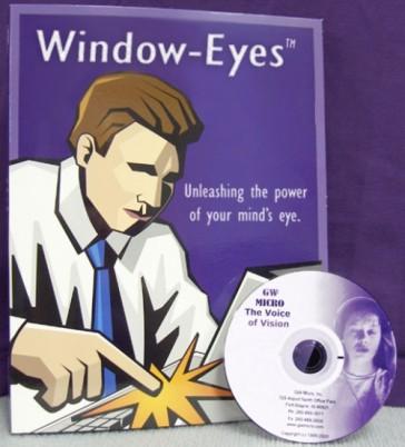 Window-Eyes 7.5.2 or higher